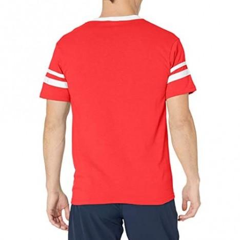 Augusta Sportswear mens Sleeve stripe jersey Red/White 3X-Large US