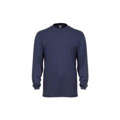Badger Sportswear Men's B-Dry Long Sleeve Tee Navy XX-Large