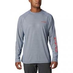 Columbia Men's PFG Terminal Deflector Long Sleeve Shirt Breathable UV Sun Protection