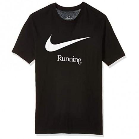 Nike Run Graphic Men's Dry fit Short Sleeve T-Shirts Ck0637-010