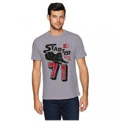 Starter Men's Standard Short Sleeve Panther 71 Logo Tee