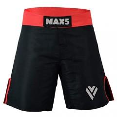 MAX5 MMA BJJ Mixed Martial Arts Shorts | Cross Training Shorts | Muay Thai Workout Shorts