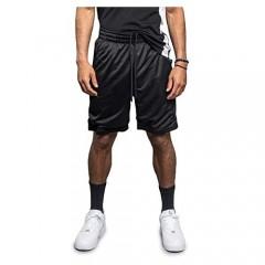 Victorious Men's Drawstring Waistband Athletic Basketball Track Shorts