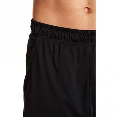 Nike Mens Fly 9 Training Shorts Black/Dark Grey AH7933-010 Size Large