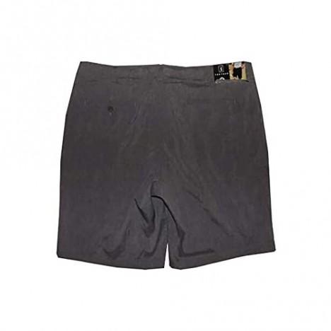 PGA TOUR Mens Active Waistband Stretch Shorts Med Grey Heather (38)