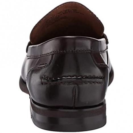 Kenneth Cole Reaction Men's Crespo 2.0 Belt Loafer Brown 7 M US
