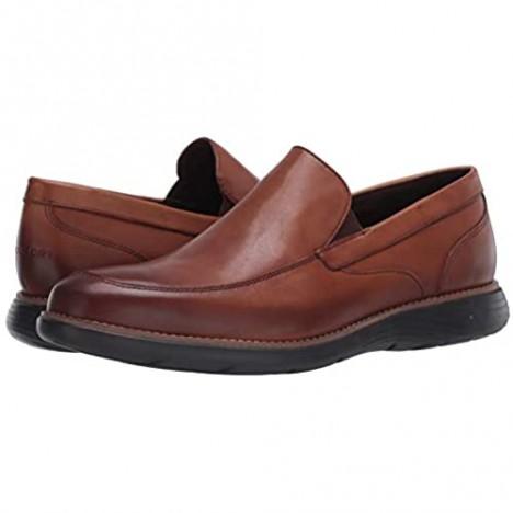 Rockport Men's Garett Venetian Loafer Flat Cognac Gr A Di 12 M US