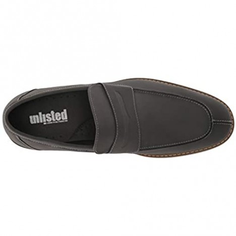 Unlisted by Kenneth Cole Men's Kinley Slip on Penny Loafer