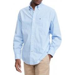 Checkered Stretch Dress Shirt