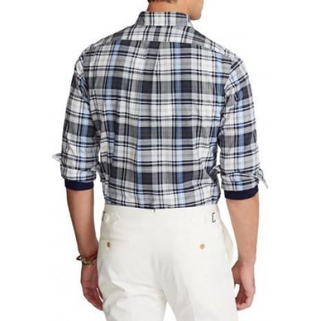 Classic Fit Tattersall Oxford Shirt t