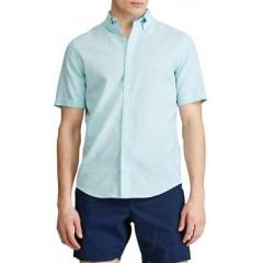 Go Untucked Short Sleeve Linen Shirt