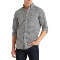 Long Sleeve Stretch Oxford Button-Down Shirt