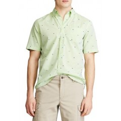 Performance Short Sleeve Easy Care Button Down Shirt