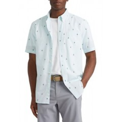 Performance Short Sleeve Easy Care Button Down Shirt t
