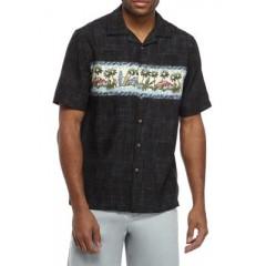 Short Sleeve Rayon Camp Shirt