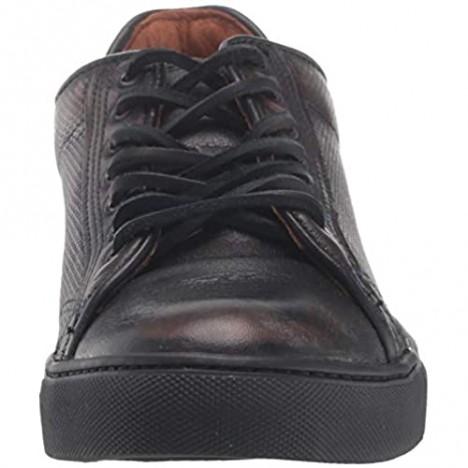 Frye Men's Walker Low Lace Sneaker Black 13 M US
