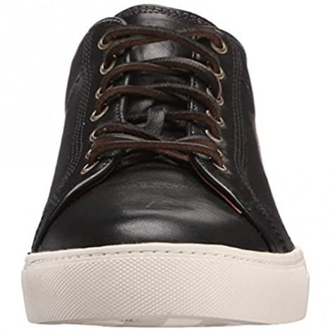 Frye Men's Walker Low Lace Sneaker Black 9.5