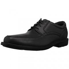 Rockport Men's Style Crew Apron Toe Oxford black 7 M US