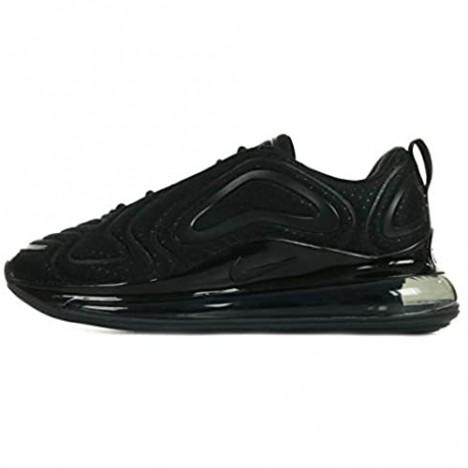 Nike Men's Air Max 720 Running Shoes (Black/Black/Anthracite Numeric 8)