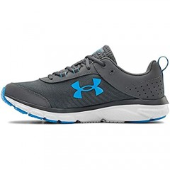 Under Armour mens Charged Assert 8 Running Shoe Pitch Gray (109 White 10 US