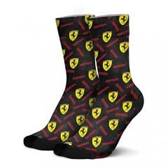Mens Socks black- Warm Compression Socks Men Cotton Long Socks