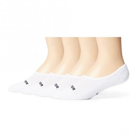 Starter Men's 4-Pack Athletic Invisible Liner Socks Exclusive