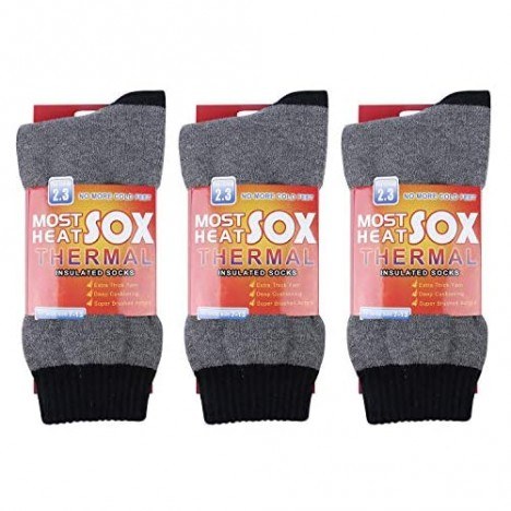 Thermal Socks for Men - Winter Warm Socks Mens Womens for Cold Weather Extreme Temperatures