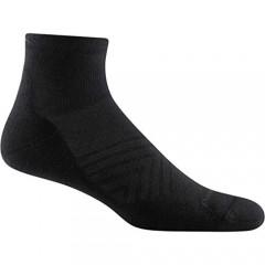 Darn Tough (Style 1055) Men's 1/4 Sock Ultra-Lightweight with Cushion Run Sock