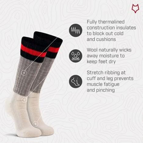 Fox River Adult Outdoorsox Freezing Weather Extra-heavyweight Mid-Calf Socks