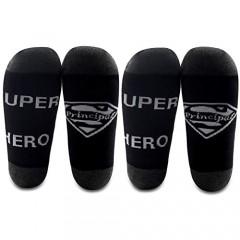 G2TUP School Principal Gift Ideas Super Hero Super Principal Appreciation Socks End Of School Gift 2 Pairs