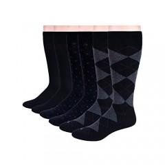 Patterned Crew Sock - 6 Pair Pack