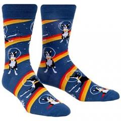 Sock It To Me Mens Crew Dog Socks