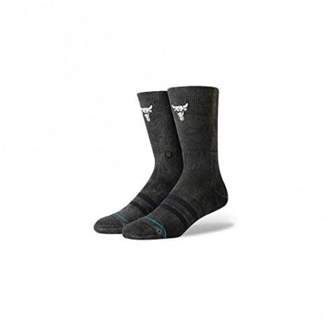 Stance Mens NBA Casual socks Chicago Bulls Blacktop Large 9-12