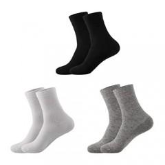 YunYan 8Pair Men's Socks Cotton Socks casual socks 4 colors