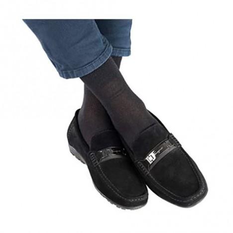 5-pack Men's Ultra thin Breathable Cotton Dress Socks