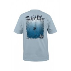 Hook Line and Sinker Fade Short Sleeve Graphic Tee