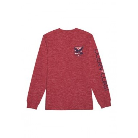 Long Sleeve Kenny Wood Duck Graphic T-Shirt