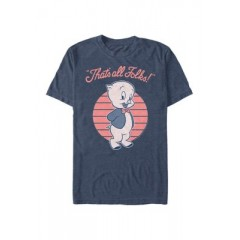 That's All Porky Graphic Short Sleeve T-Shirt