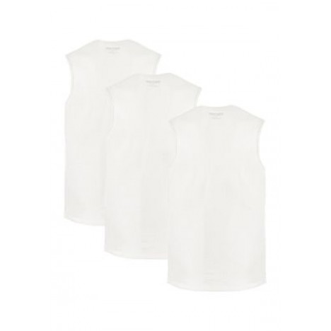 3-Pack Cotton Muscle T-Shirts