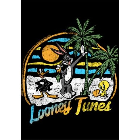 Looney Tunes Combo Graphic T-Shirt and Mask