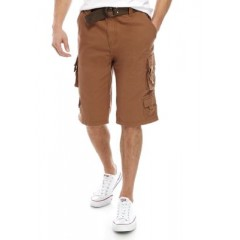 13 Inch Belted Cargo Shorts