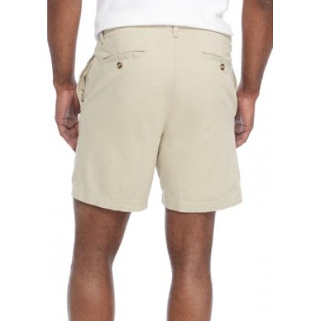 7 in Stretch Twill Dry Cement Shorts