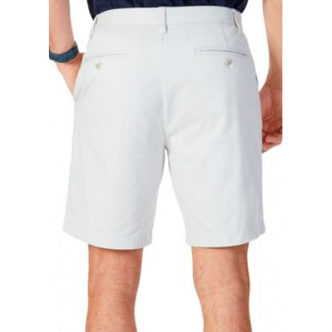 8.5 in Flat Front Deck Shorts