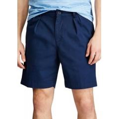 Coastland Wash Pleated Shorts