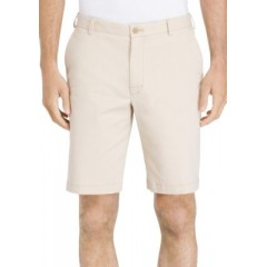 Flat Front Stretch Shorts