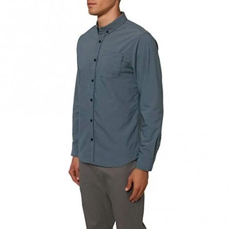 O'NEILL Men's Modern Slim Fit Long Sleeve Button Down Shirt