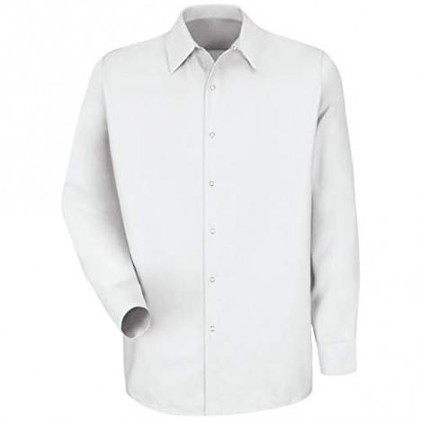 Red Kap mens Rk Specialized Pocketless Work Shirt