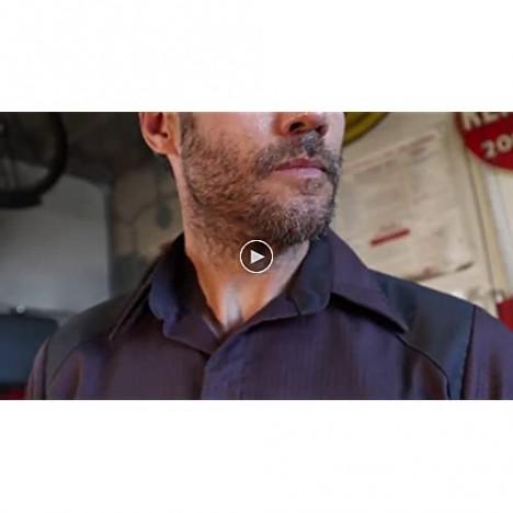 Red Kap Men's Striped Color Block Long Sleeve Shirt Big/Tall