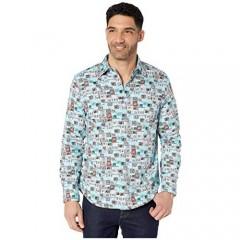 Robert Graham Men's Stay Tuned L/S Woven Shirt
