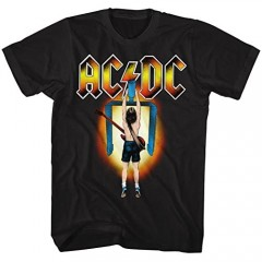 AC/DC Hard Rock Band Music Group Flick of The Switch Adult T-Shirt Tee